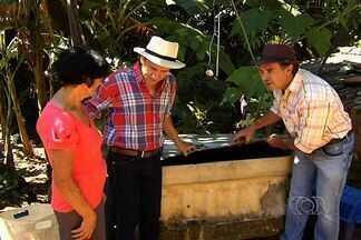 Humoristas Nilton Pinto e Tom Carvalho se tornam fiscais da dengue, em Goiânia. - Os humoristas Nilton Pinto e Tom Carvalho entraram na campanha de combate à dengue e visitaram moradores do Setor Aeroporto.