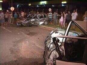 Motorista bêbado provoca acidente em Paranavaí - 4 pessoas ficaram feridas