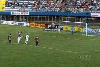 Aparecidense surpreende e vence Anápolis por 1 a 0 fora de casa - Equipe de Aparecida de Goiânia foi única visitante a se dar bem na rodada.
