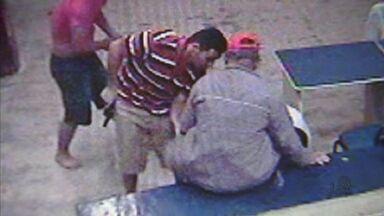Polícia investiga assalto a banco comunitário Palmas, em Fortaleza - Os assaltantes levaram mais de R$ 68 mil. Eles renderam os vigilantes e passaram mais de uma hora no local na madrugada do domingo (20).