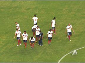 Bahia estreia na Copa do Nordeste no estádio de Pituaçu - O Tricolor enfrentou o Itabaiana e venceu por 3 a 2.