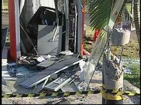 Polícia devolve R$ 32 mil para banco após explosão em caixa automático - A polícia de Lençóis Paulista informou na tarde desta segunda-feira (21), que R$ 32 mil deixados pelos criminosos após explodir um caixa automático durante a madrugada foram devolvidos ao banco.