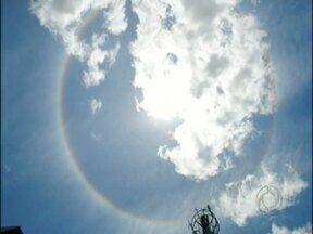 Verão e céu limpo proporcionam alguns fenômenos que chamam a atenção dos moradores - O jornalista Ari Wollmuth mandou uma foto ao paranáTV