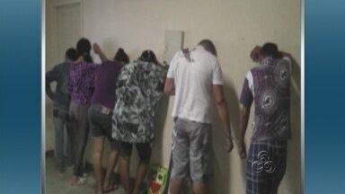 Operação 'Carnaval Limpo' prende suspeitos de tráfico de drogas em Parintins, no AM - A suposta quadrilha foi presa em Parintins. A operação ocorreu nas áreas rurais de Parintins, Nhamundá e Barreirinha.