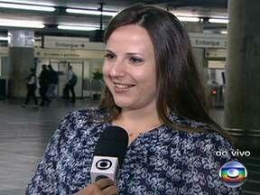 Metrô oferece passeio pelos pontos históricos de São Paulo - Na semana do aniversário de São Paulo, a cidade ganhou um roteiro turístico especial. Um passeio de metrô passa pelos principais pontos históricos da capital.