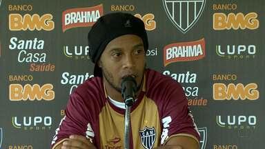 Ronaldinho Gaúcho é único jogador do Atlético-MG a ser convocado para seleção brasileira - Meio de campo recuperou a alegria de jogar.