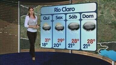 Confira a previsão do tempo para São Carlos e região nesta quarta-feira (23) - Confira a previsão do tempo para São Carlos e região nesta quarta-feira (23).
