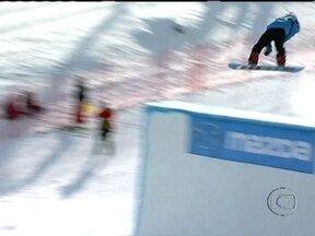 Conheça mais sobre o Slopestyle, nova modalidade do Snowboard - Mundial da competição acontece em Quebec, Canadá, e teve brasileiro disputando por lá.