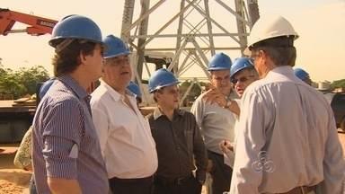 Presidente da Eletrobrás fala sobre energia elétrica para Copa-2014 - O presidente da Eletrobrás convocou a imprensa nesta quarta (23) para falar sobre o fornecimento de energia elétrica durante a Copa do Mundo de 2014.