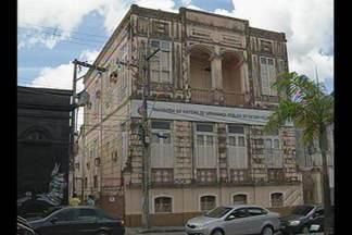 Prédio da ouvidoria da Secretaria Estadual de Segurança é assaltado em Belém - Assaltantes invadiram prédio na última terça-feira (22).