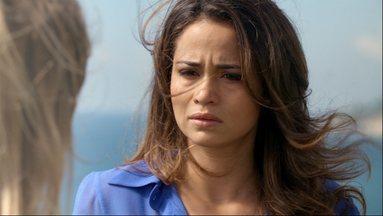 Morena promete vingar a morte de Jéssica - Bela do Alemão se emociona ao ter visão da amiga