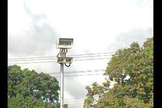 Começam a funcionar os radares instalados nos km 1 e 2 da BR-316 - Ao todo foram instaladas na br, 22 lombadas eletrônicas.