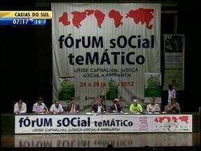 Começa neste sábado mais uma edição do Fórum Social Temático em Porto Alegre - Evento terá seis dias de duração.