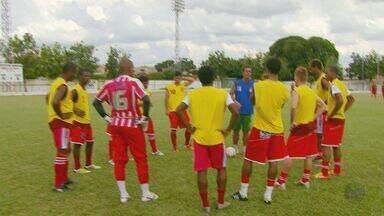 Equipe de futebol amazonense faz pré-temporada no Sul de Minas - Equipe de futebol amazonense faz pré-temporada no Sul de Minas