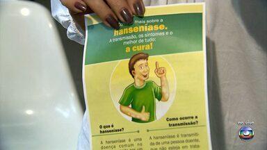 Campanha, em BH, alerta população para diagnóstico precoce da hanseníase - Dia mundial de combate à doença é comemorado no próximo domingo.