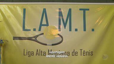 Liga Alta Mogiana de Tênis é criada em Franca, SP - Organizadores pretendem incentivar a prática do esporte nas escolas.