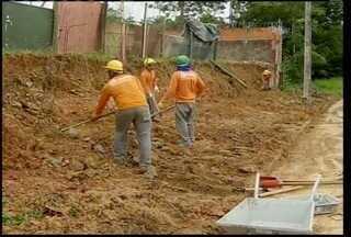 Empresários se unem para reconstruir muro da Apae de Montes Claros atingido pela chuva - Empresários se unem para reconstruir muro da Apae de Montes Claros atingido pela chuva