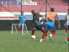 Cianorte quer acabar com jejum de gols diante do Coritiba - Ainda sem balançar as redes no Campeonato Paranaense, time pode ter novidade no ataque