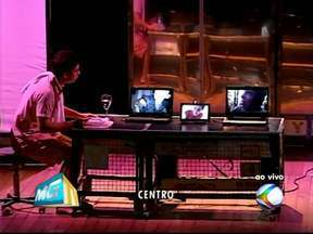 Espetáculo 'Argonautas de um mundo só' é apresentado em Uberlândia, MG - Peça é realizada pelo grupo teatral O Coletivo.Evento ocorre na noite deste sábado (26), no Teatro Rondon Pacheco.