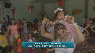 Fim de semana tem opções variadas de festas de carnaval para a criançada no Recife - No domingo, o Bal Masquezinho anima os pequenos no Clube Internacional. Também no domingo tem a festa do bloco Trelosinho, no Clube Alemão, em Casa Forte.