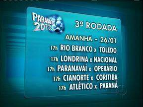 Confira os jogos deste domingo do Campeonato Paranaense - No sábado J. Malucelli venceu Arapongas