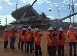 'Eu visitei a Arena da Amazônia' está de volta em Manaus - Projeto 'Eu visitei a Arena da Amazônia' está de volta em Manaus. Iniciativa começou neste sábado, 26 de janeiro.