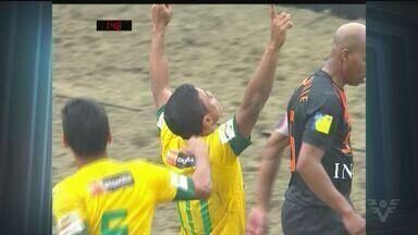 Brasil chega a final da Copa das Nações de Futebol de Areia - Partida foi contra a Holanda na Praia do Gonzaga, em Santos