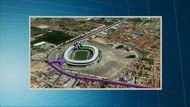 Castelão tem esquema especial de segurança na reinauguração - Dois jogos reinauguram o estádio no domingo (27).