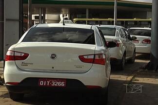 Medo de assaltos assusta taxistas em alguns postos de São Luís - Sindicato da categoria quer mais segurança para a época de carnaval, quando o número de assaltos aumenta.