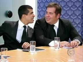 Os Caras de Pau - Programa de 27/01 na íntegra - Pedrão e Jorginho aprontam muito!
