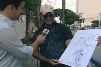 Dia nacional dos quadrinhos é lembrado com programação especial em João Pessoa - Veja a programação e conheça um pouco do artista Hausman Santos.
