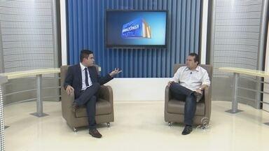 Dnit fala sobre obras da BR-319 e Porto de Manaus - Afonso Lins, superintendente Regional do Dnit-Amazonas e Roraima, foi o entrevistado do AMTV desta quarta.