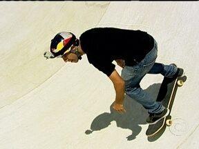 Sandro Dias, o Mineirinho, constrói parque particular de skate - Skatista acaba de ter filho e começa construir um local destinado para os amantes do esporte no interior paulista.