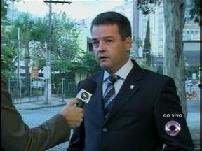 Delegado regional fala sobre a série de atentados no Vale do Itajaí - Delegado regional fala sobre a série de atentados no Vale do Itajaí.