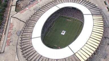Reabertura do Mineirão é marcada por problemas na infraestrutura - Torcedores lotaram o estádio para acompanhar o clássico entre Cruzeiro e Atlético.