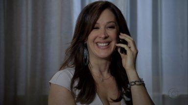 Lívia liga para Helô dizendo que quer conversar pessoalmente com ela - Lucimar vai ao encontro da chefe da máfia e ela se assusta