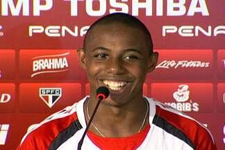 São Paulo estreia na Libertadores contra o Atlético-MG - Ney Franco faz treino fechado para a imprensa, mas Wellington 'entrega' o time titular.