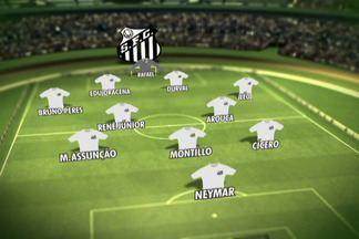 Muricy Ramalho muda o time para enfrentar a Ponte Preta - Novo esquema tem Neymar isolado na frente e três meias