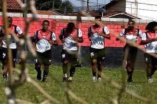 Na estreia de Waldemar Lemos, Dragão busca primeira vitória em 2013 - Atlético-GO tem momentos de alto astral nos momentos que antecedem o confronto contra o Tigre.