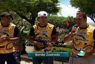 Banda Zueirada faz ressaca do carnaval no bairro Lamarão em Aracaju - Banda começa a se apresentar às 16h de sábado (16).