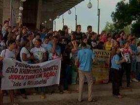 Aberta a Campanha da Fraternidade 2013, com tema Fraternidade e Juventude - Evento aconteceu no espaço da Ponte Estaada