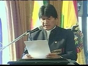 Bolívia expropria empresa espanhola que administrava três aeroportos do país - O decreto de nacionalização foi lido pelo presidente Evo Morales, que acusa a empresa espanhola de não realizar investimentos prometidos, e de ter lucros exorbitantes.
