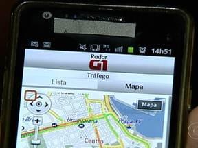 Aplicativo Radar G1 vai indicar situação do trânsito na cidade - O novo aplicativo foi lançado essa semana. Ele pode ser acessado 24 horas pelo Portal G1, na página do Rio de Janeiro. São mais de 20 câmeras da prefeitura espalhadas pelas principais ruas e avenidas da cidade.