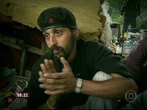 Relembre a história do ex-morador de rua Radge Santiago - Viciado em crack, ele e Railane tiveram ajuda do Mais Você para abandonar as drogas