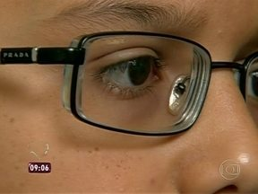 Três em cada 10 crianças possuem problemas de visão - As dificuldades enfrentadas afastam os jovens do ambiente escolar
