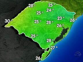 Tempo seco predomina no Rio Grande do Sul neste sábado (23) - Confira a previsão do tempo.