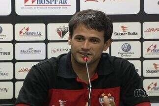 Atlético-GO apresenta atacante Pipico - Jogador treina no Dragão desde o último dia 4 de fevereiro.