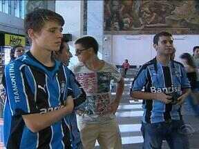 Grêmio vai para o Gre-Nal embalado após vitória sobre o Fluminense - Equipe voltou a Porto Alegre nesta sexta-feira.
