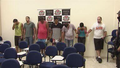 Polícia prende parte de quadrilha especializada em explodir caixas eletrônicos, em Santos - A Polícia Civil prendeu nesta sexta-feira (22), em Santos, no litoral de São Paulo, parte de uma quadrilha especializada em explosões de caixas eletrônicos.