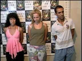 Em Lages, suspeitos são presos de cometer atentados contra base da PM - Em Lages, suspeitos são presos de cometer atentados contra base da PM.